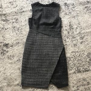 Two-toned BR dress